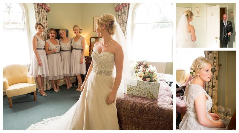 alan clarke photography ripley castle wedding