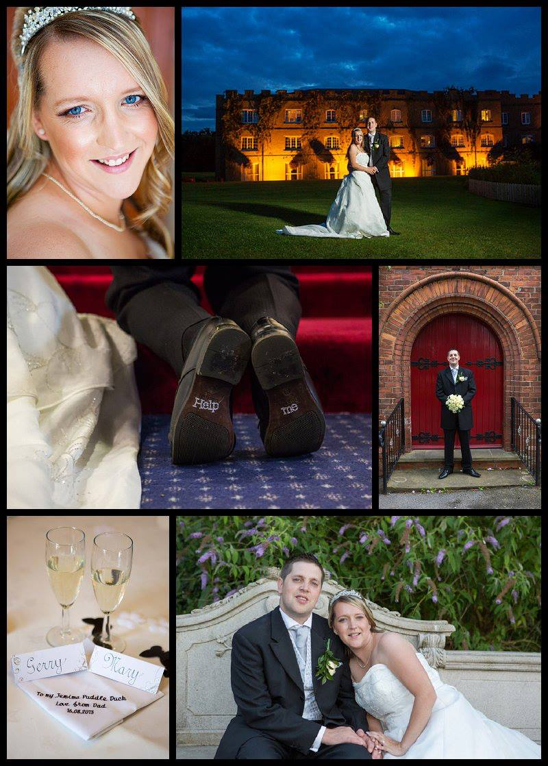 Wedding photography at Ramside Hall